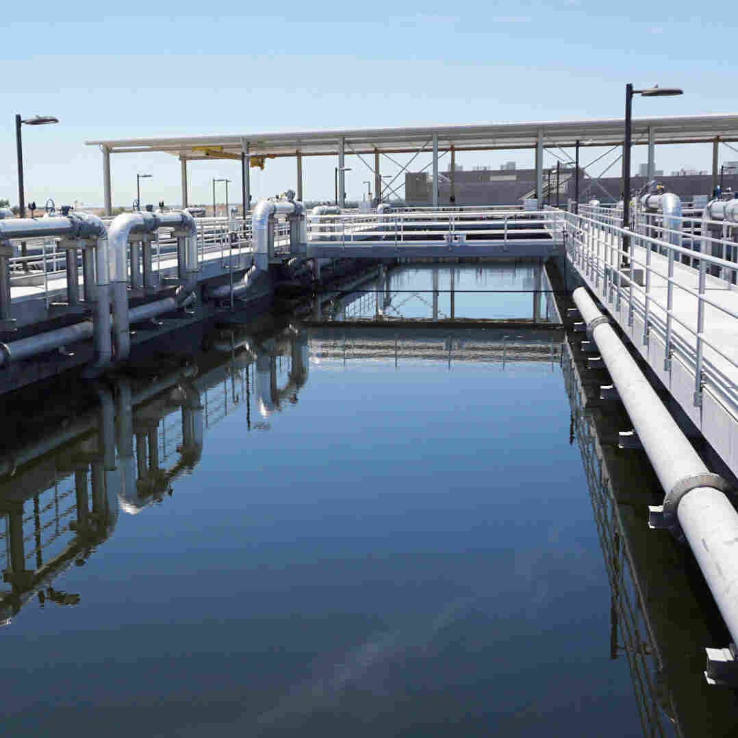 Drought-Stricken California Farmers Look To Tap Urban Wastewater