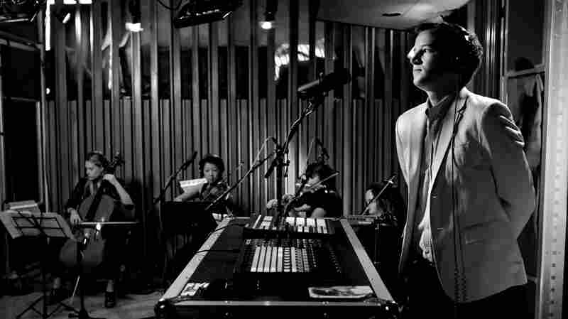 Chris Baio and his band perform live on KCRW's Morning Becomes Eclectic.