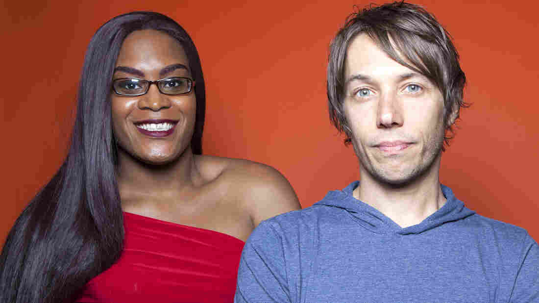 Actress Mya Taylor and director Sean Baker collaborated on the film Tangerine, a comedy about a friendship between transgender sex workers in Los Angeles' unofficial red-light district.