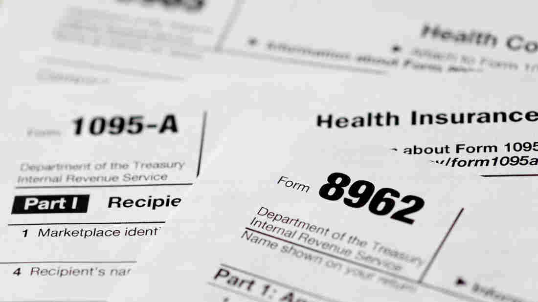 The IRS released preliminary figures that show about three-quarters of taxpayers indicated they had qualifying health insurance in 2014.