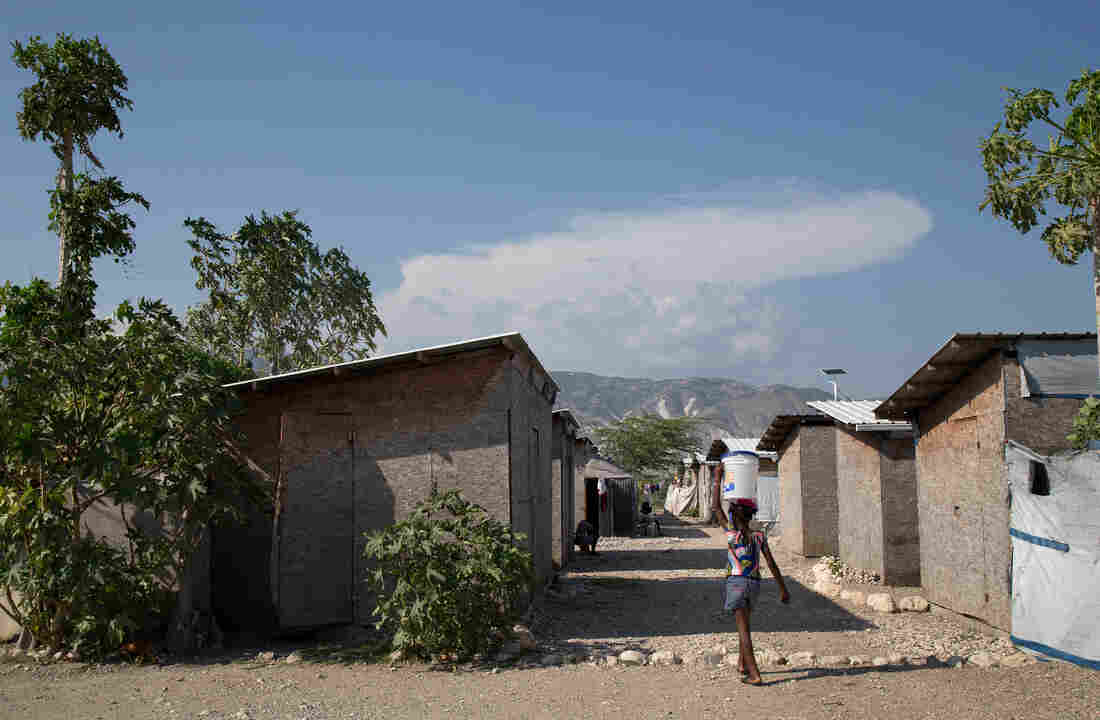 The Red Cross funded these homes in the Parc Tony Colin community in Bon Repos, Haiti, after the 2010 earthquake, but residents say the structures are starting to deteriorate from water damage. Newly obtained internal reports raise questions about how the Red Cross spent nearly $500 million in Haiti.