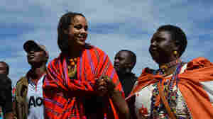 "British actress Zawe Ashton and Agnes Pareyio, who underwent female genital mutilation as a girl in Kenya, are two of the activists featured in ""Stop Cutting Our Girls,"" a documentary opposing the practice."
