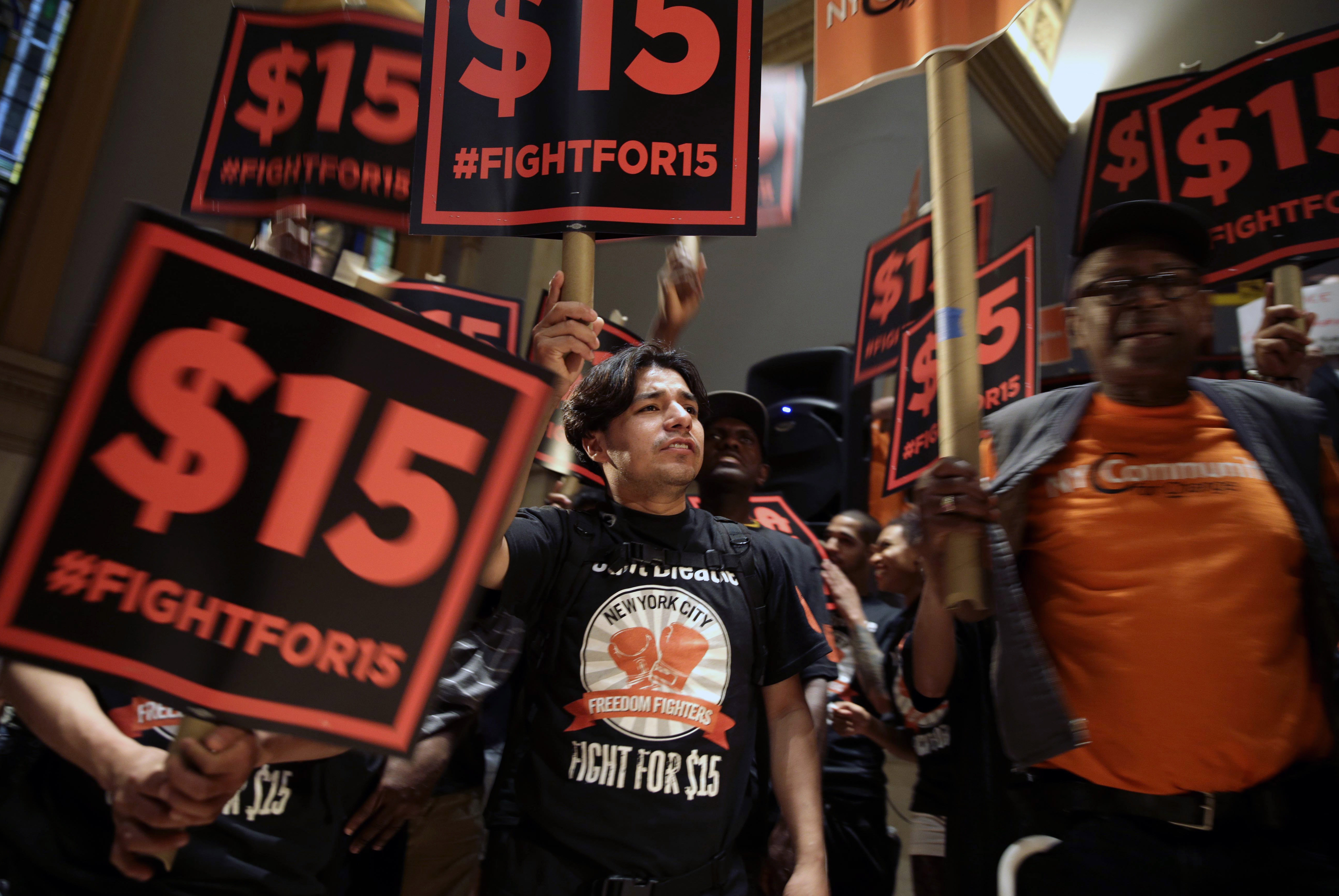 California, New York And Washington, D.C., Make Moves On Minimum Wage