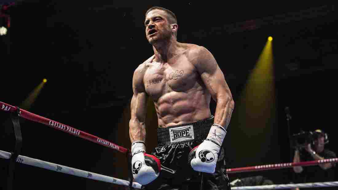 Jake Gyllenhaal plays boxer Billy Hope in Southpaw.