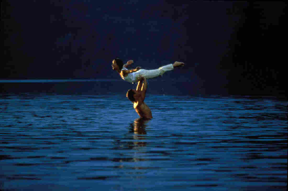Remember that scene from Dirty Dancing when Patrick Swayze and Jennifer Grey practice their lifts in a lake? Turns out they weren't the only ones in the water; choreographer Kenny Ortega was right there beside them.