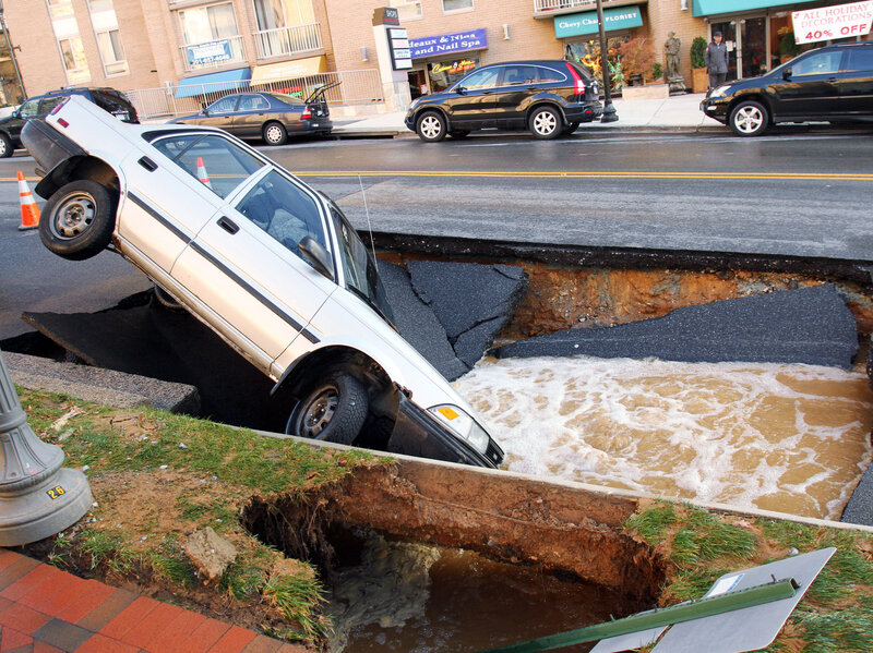 think america s roads are crumbling not quite it s all politics npr