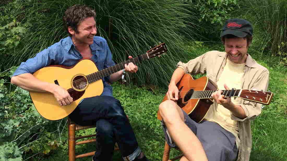James Elkington (left) and Nathan Salsburg.