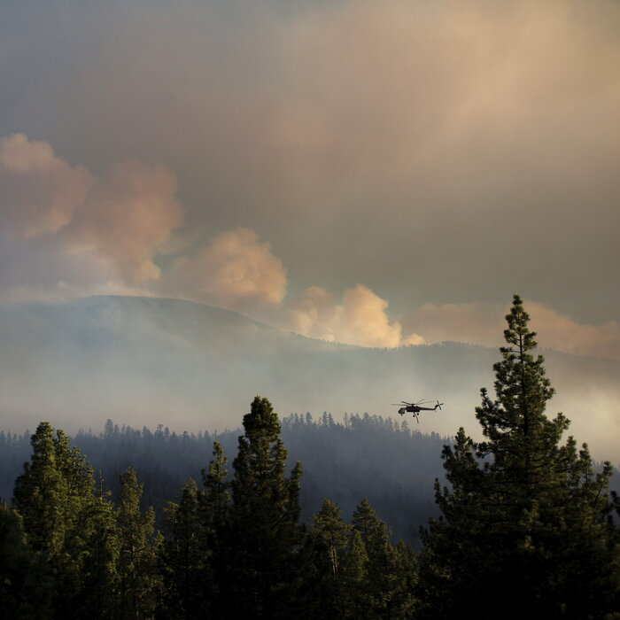 In The Heat Of The Moment, Drones Are Getting In The Way Of Firefighters
