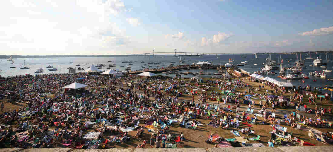 The Newport Folk Festival takes place July 24-26.