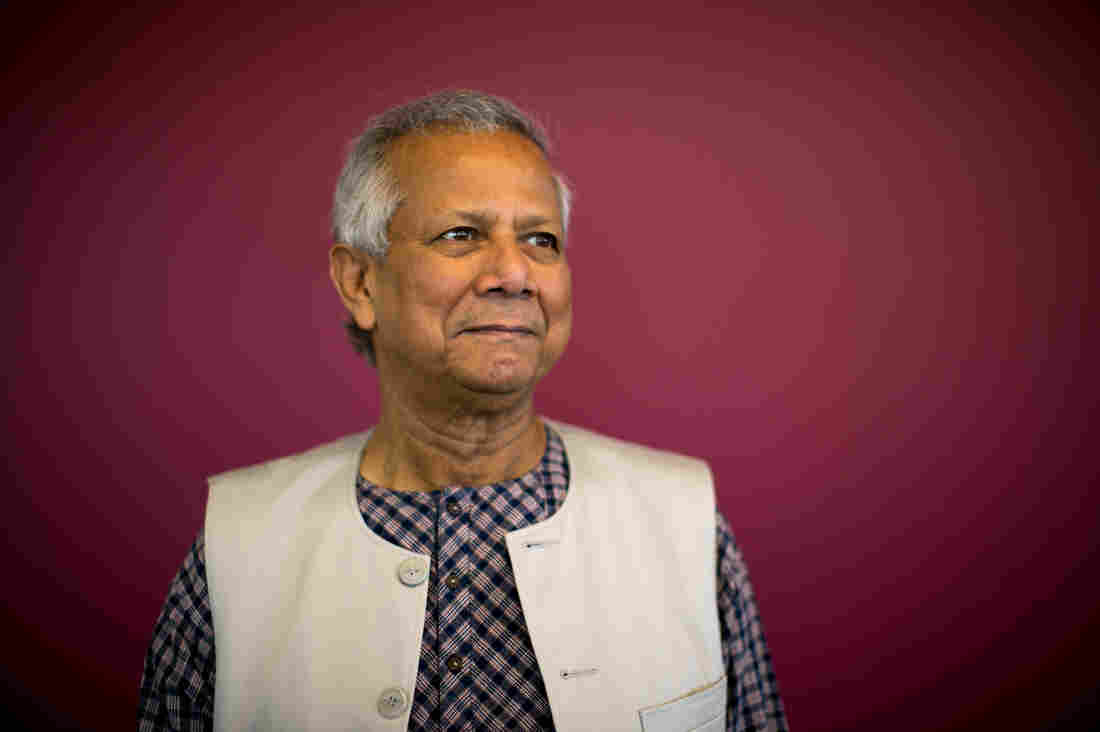 Nobel Laureate Muhammad Yunus, who just turned 75, thinks of credit as a human right.