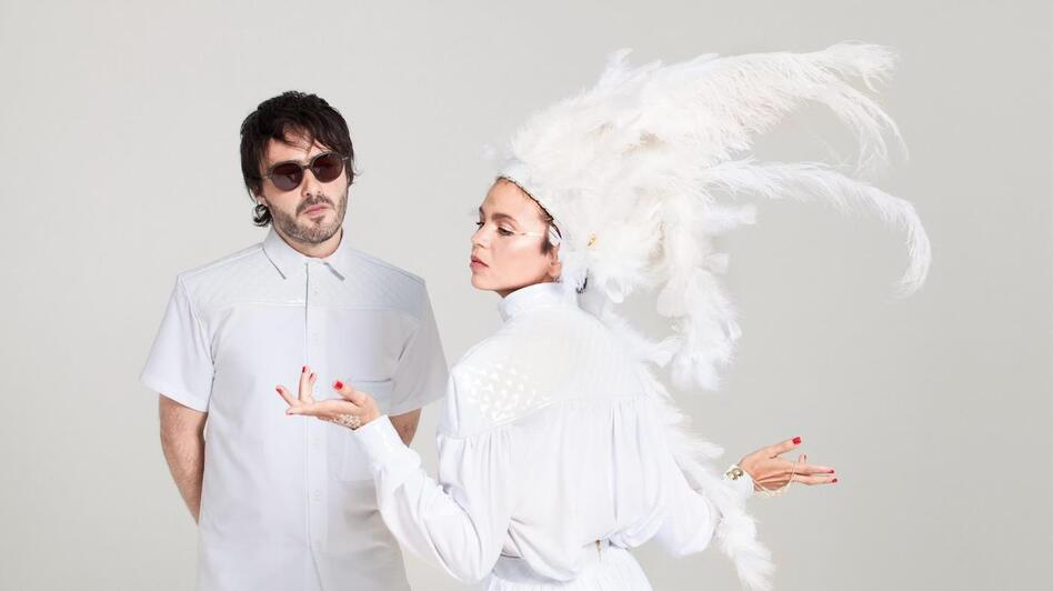 Bomba Estereo's latest album is called Amanecer. (Courtesy of the artist)