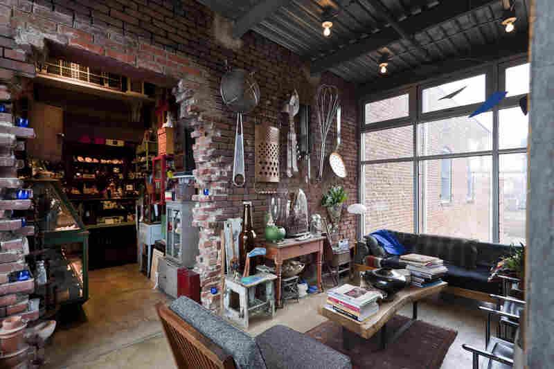 Inside the residence
