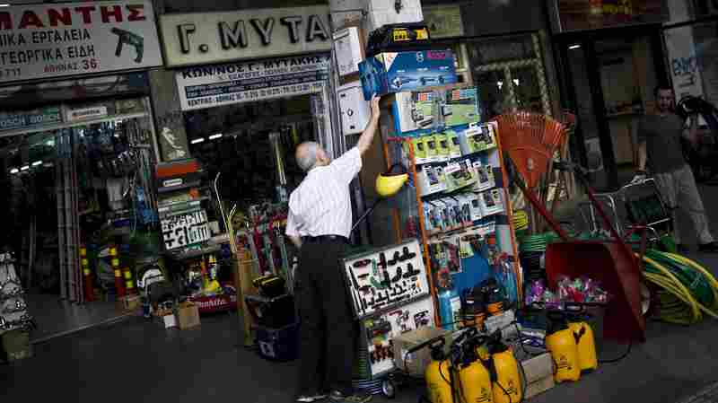 Struggling Greek Businesses Choked By Money Controls
