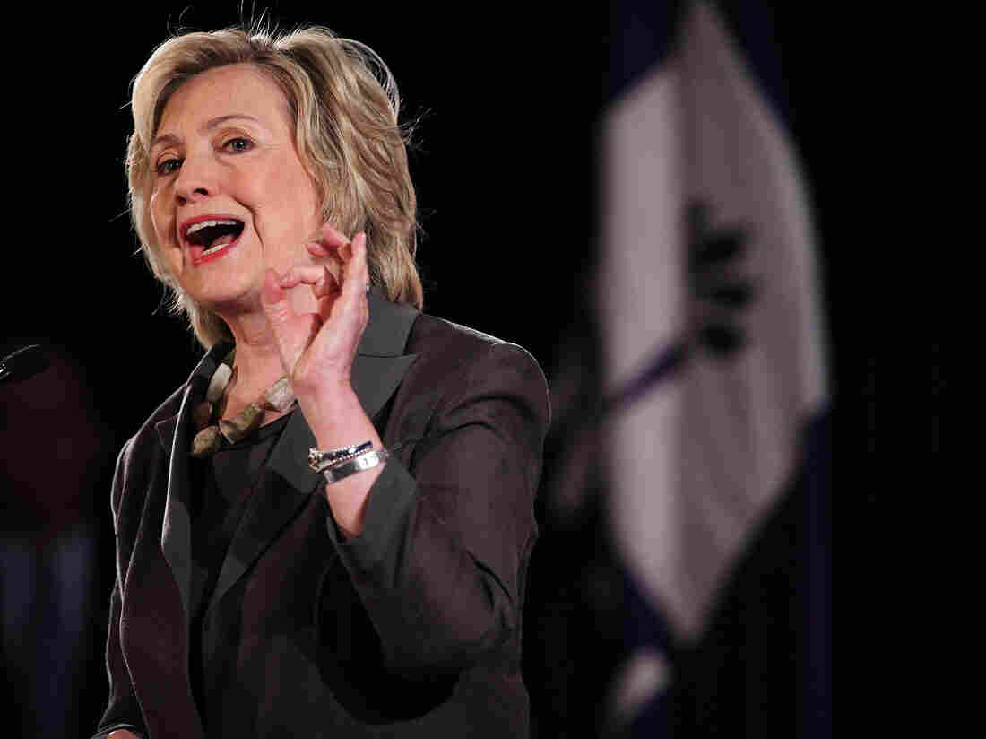 Clinton knows you're mad as hell, and she's appealing to that sense.