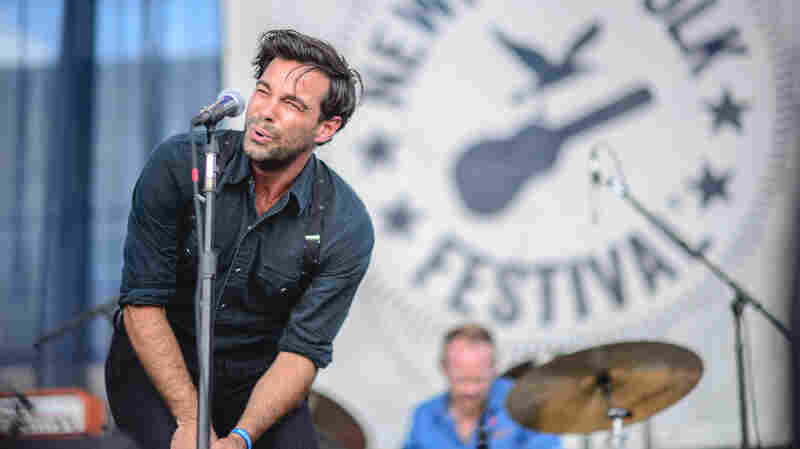 The Lone Bellow performed Friday night at the 2015 Newport Folk Festival.