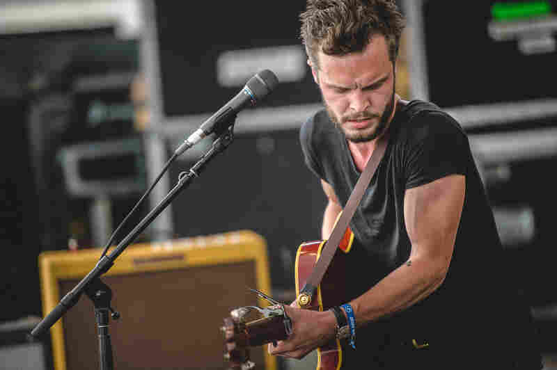 Kristian Matsson, a.k.a. The Tallest Man On Earth, performed Friday at the 2015 Newport Folk Festival.