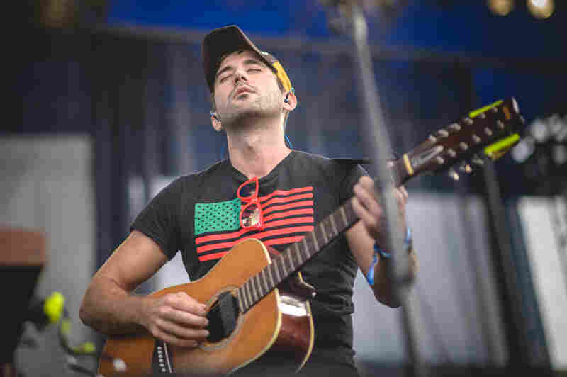 Sufjan Stevens began his 2015 Newport Folk Festival set with songs from his new album, Carrie And Lowell.