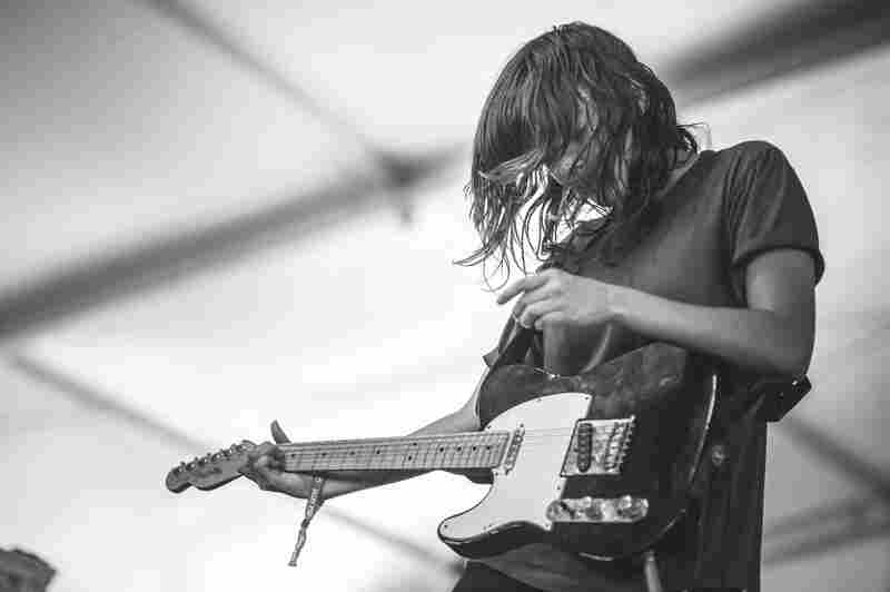 Courtney Barnett played a set highlighting material from her new album, Sometimes I Sit And Think, And Sometimes I Just Sit.