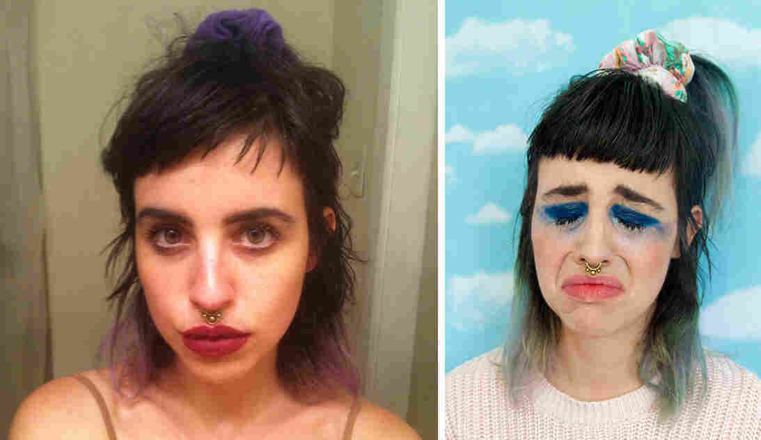 Artist Molly Soda has been using the selfie as art, recently creating a zine commenting on the idea of leaked nude images, called Should I Send This?