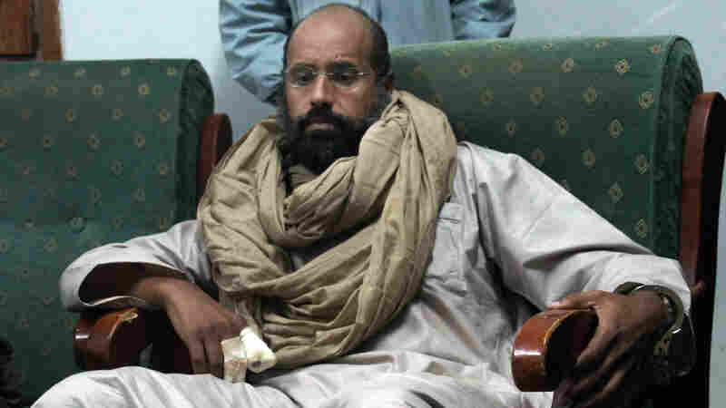 In Libya, Gadhafi's Son, Saif Al-Islam, Is Sentenced To Death In Absentia