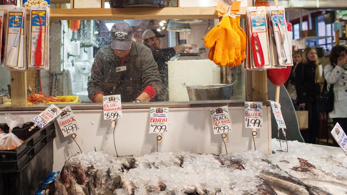 You say striped bass i say rockfish do fish names abet for Portland oregon fish market