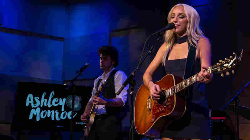 Ashley Monroe performs live at The Greene Space in New York City.