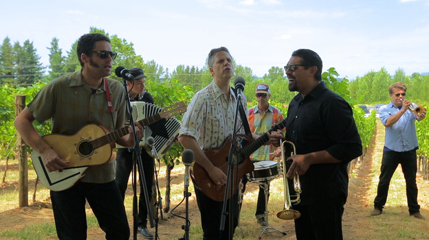 Calexico performs for opbmusic at Edgefield Winery in Troutdale, Ore. (opbmusic)