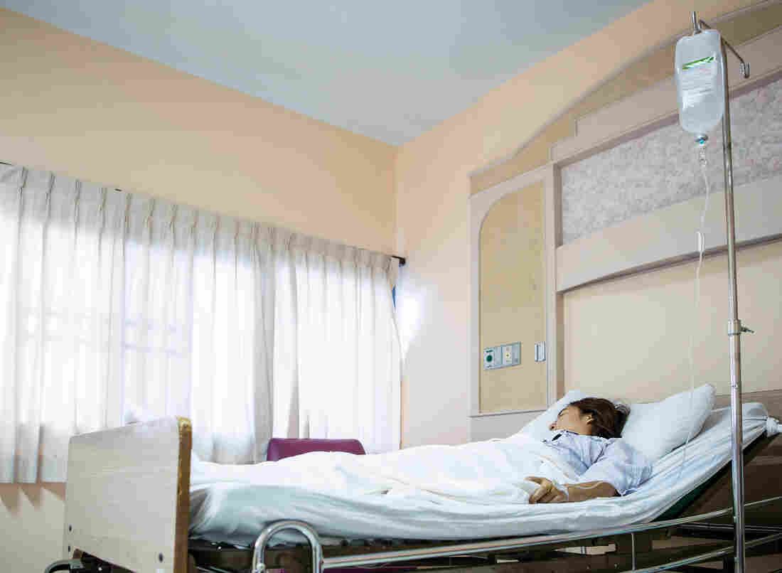 Hospitals can call people who stay overnight outpatients, a classification that can have surprising financial consequences.
