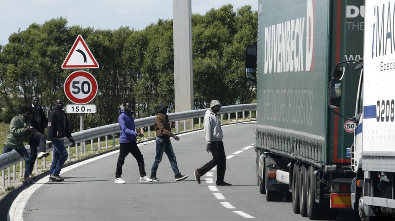 Migrant Dies In Calais As Thousands Try To Use Channel Tunnel The