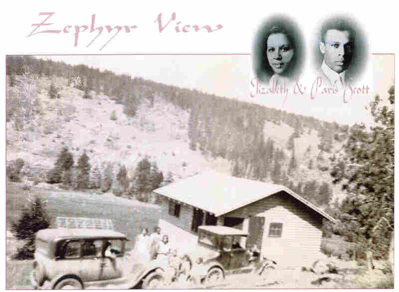 The Zephyr View was built by Gary Jackson's great-grandfather, William Pitts. This photo was taken circa 1950.
