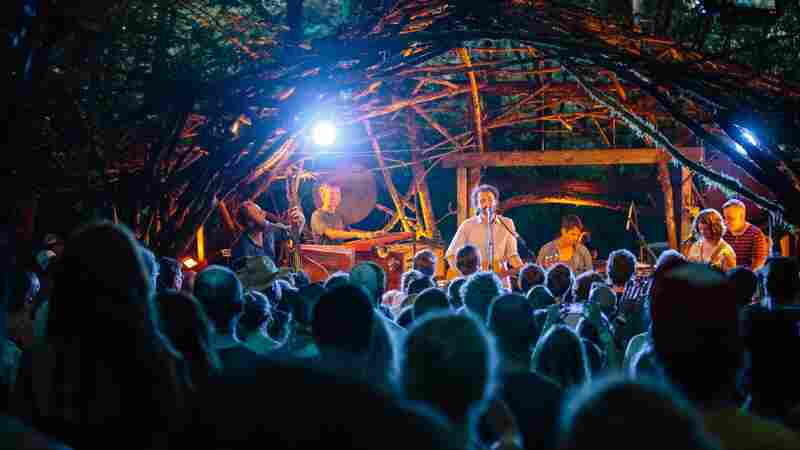 Blind Pilot performs live at Pickathon 2014.