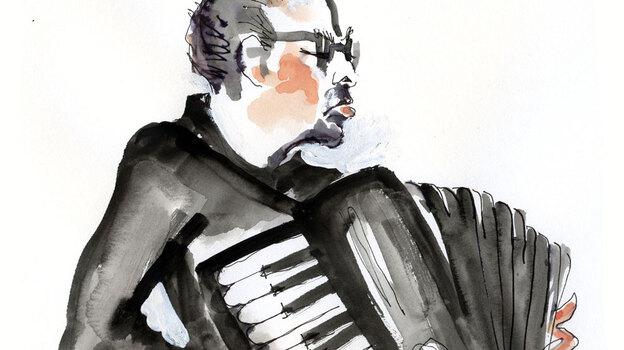 William Schimmel distills Mahler's lengthy Ninth Symphony down to under seven minutes. (Illustration by Joan Chiverton)