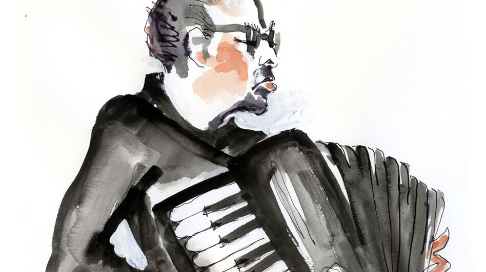 William Schimmel distills Mahler's lengthy Ninth Symphony down to under seven minutes. (Illustration by Joan Chiverton)