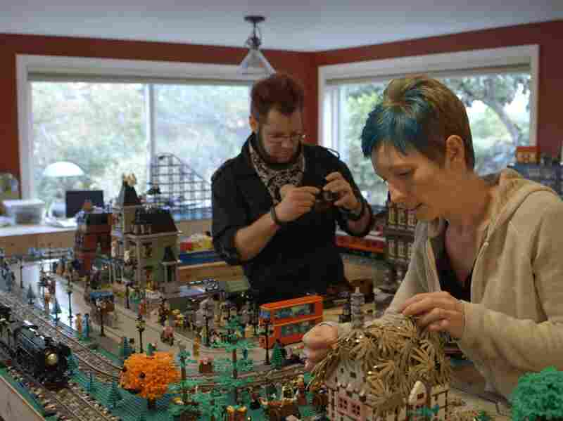 Dave and Stacy Sterling are two of the many AFOLs — or adult fans of Lego — profiled in A LEGO Brickumentary.