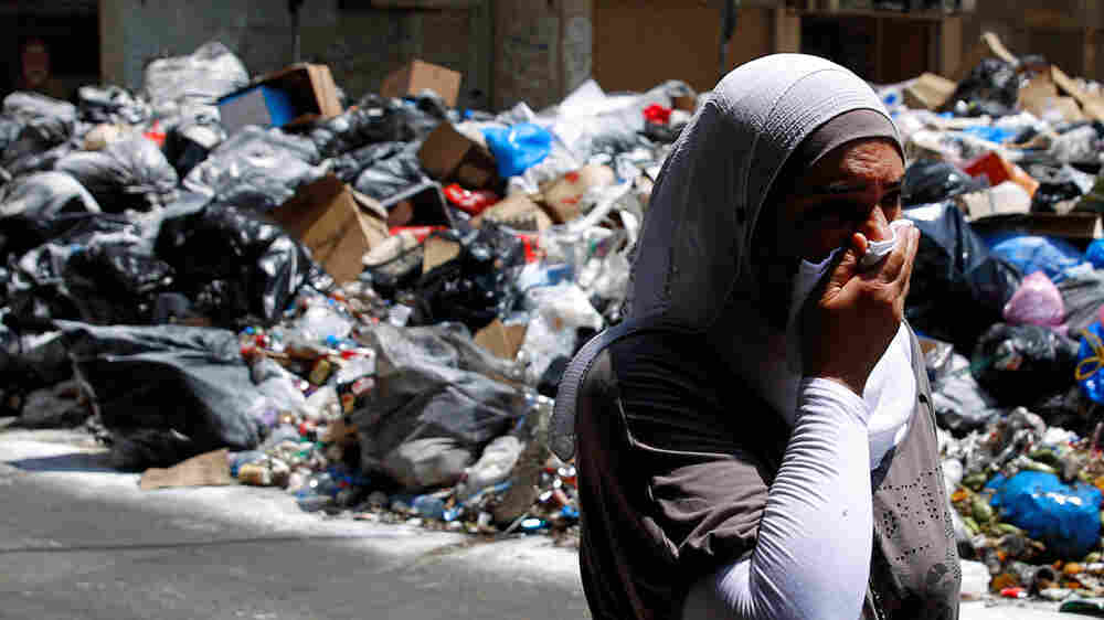 Amid Political Dysfunction, Beirut Residents Suffer The Stench Of Garbage