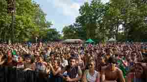 Fans attend New York's Brasil Summerfest, which highlights Brazilian music in a wide variety of styles and genres.