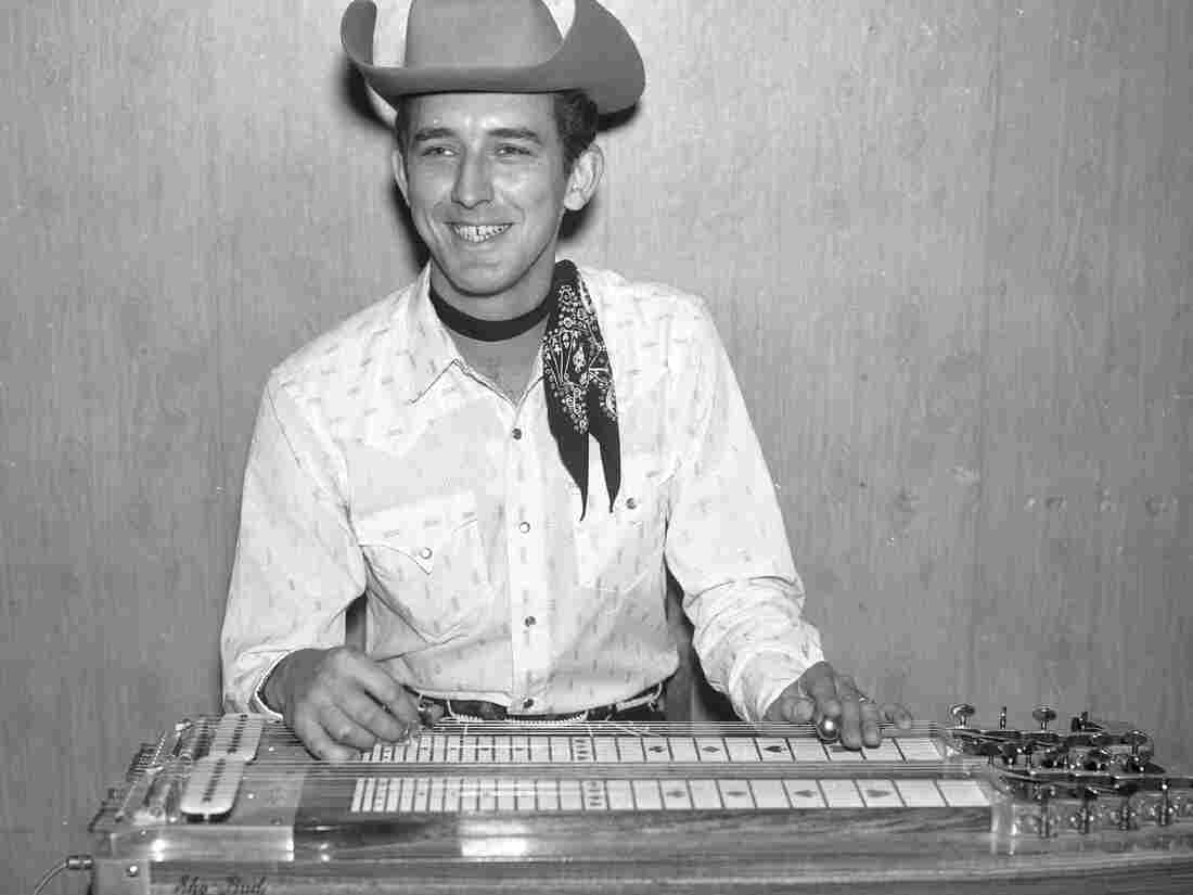 Buddy Emmons as a member of Ernest Tubb's Texas Troubadours, circa 1962.
