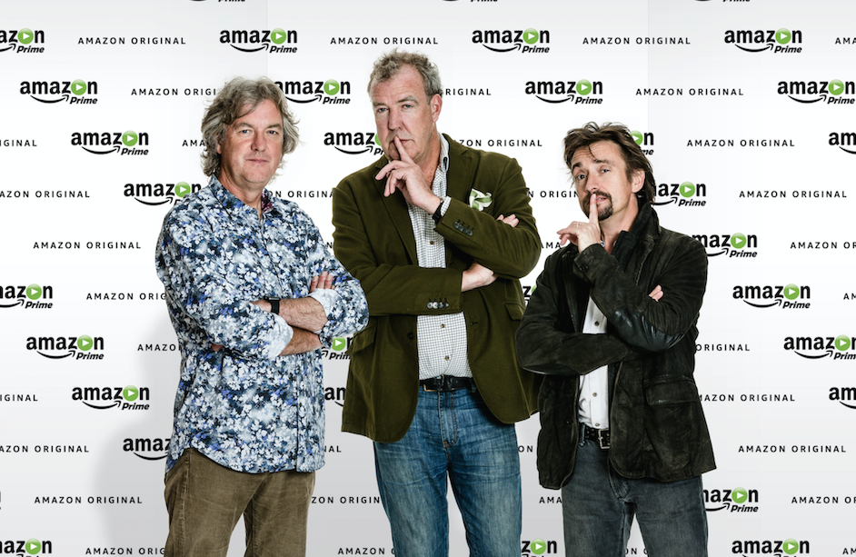 James May, Jeremy Clarkson and Richard Hammond have signed a deal for a new show with Amazon.