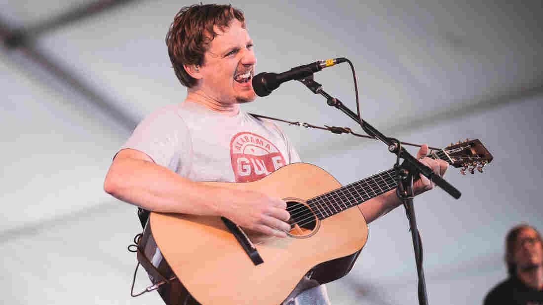 Sturgill Simpson performs at the 2015 Newport Folk Festival.