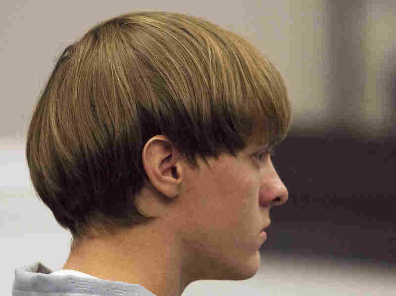 Dylann Roof, 21, charged with murdering nine worshippers at a historic black church in Charleston, S.C., in June, listens during court proceedings earlier this month.