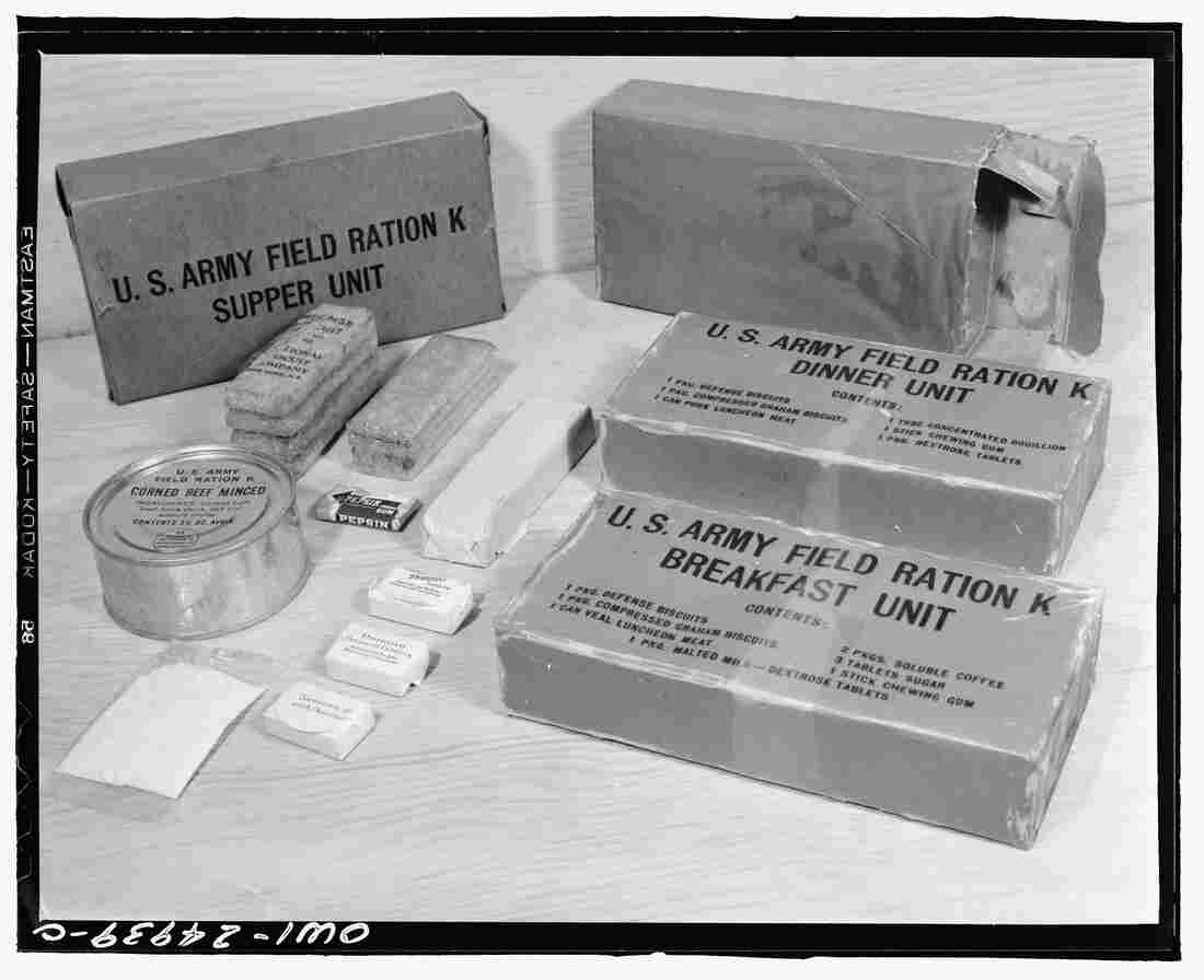 The U.S. military's need for longer-lasting rations led to the invention of many modern processed foods.