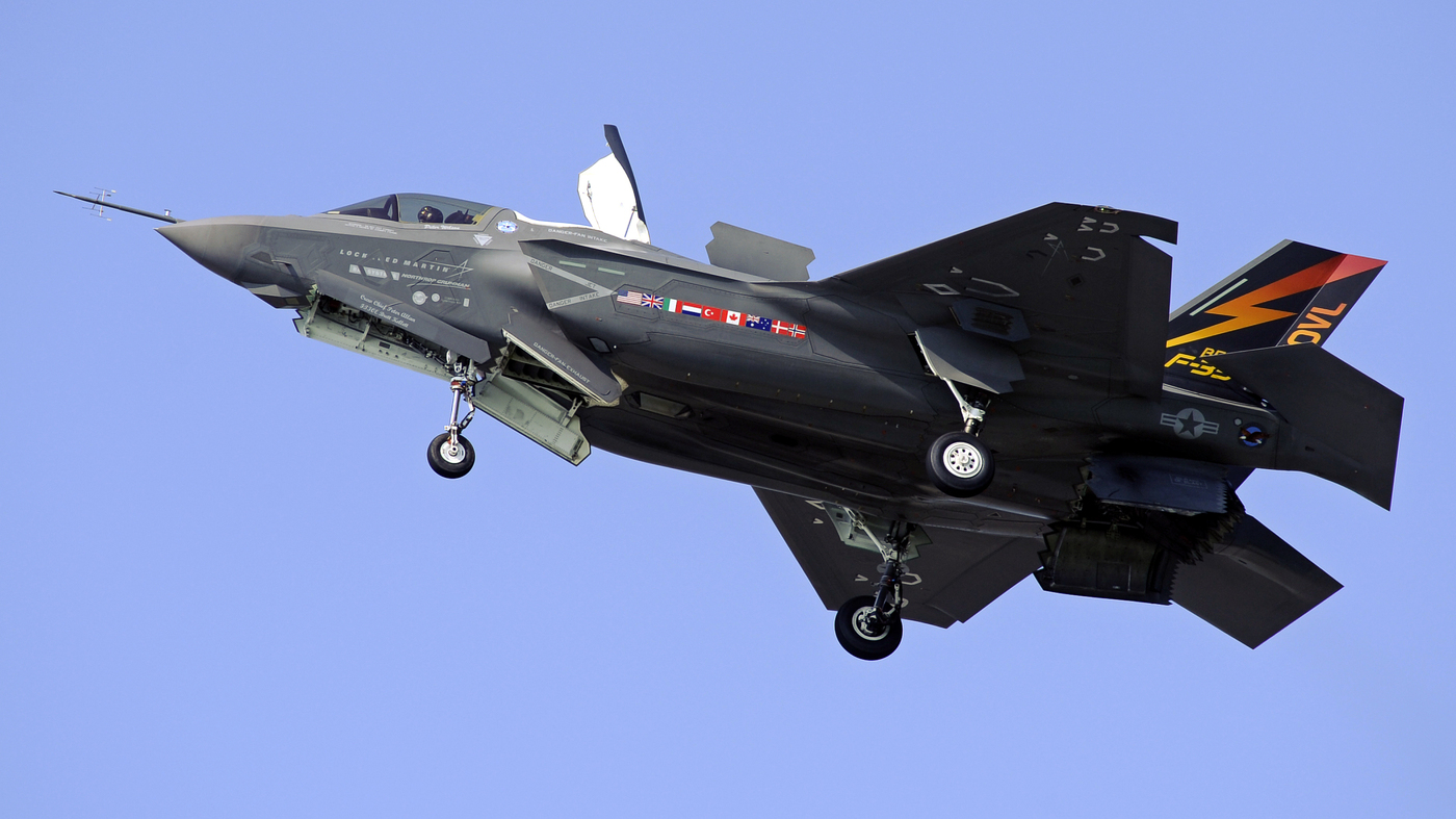 Marine Version Of F-35 Deemed 'Combat Ready' : The Two-Way ...