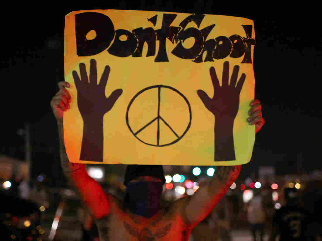 Demonstrators protested the death of Michael Brown on last summer in Ferguson, Mo., even as police sprayed pepper spray, shot smoke, gas and flash grenades.