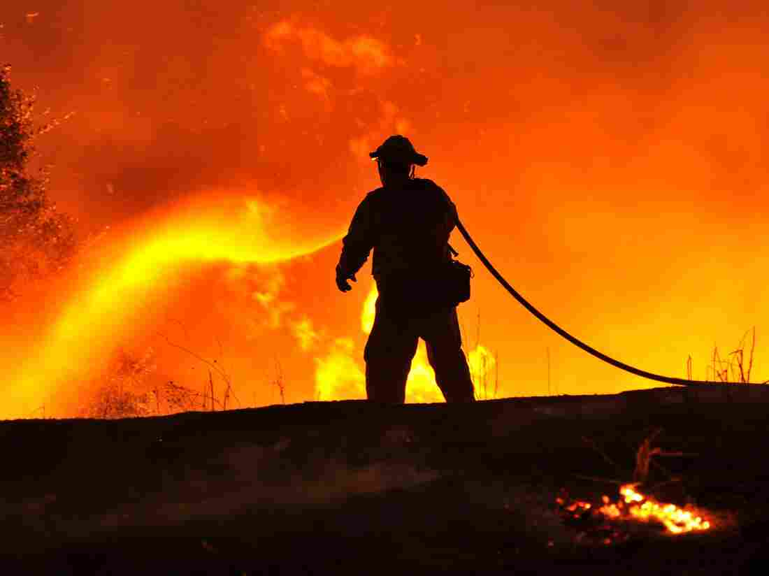 """The """"Rocky Fire"""" isn't expected to be contained until Aug. 10."""