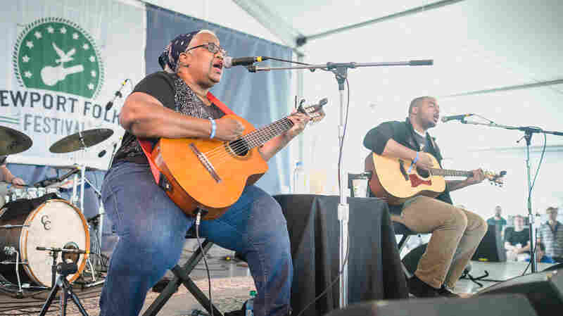 Madisen Ward And The Mama Bear, Live In Concert: Newport Folk 2015