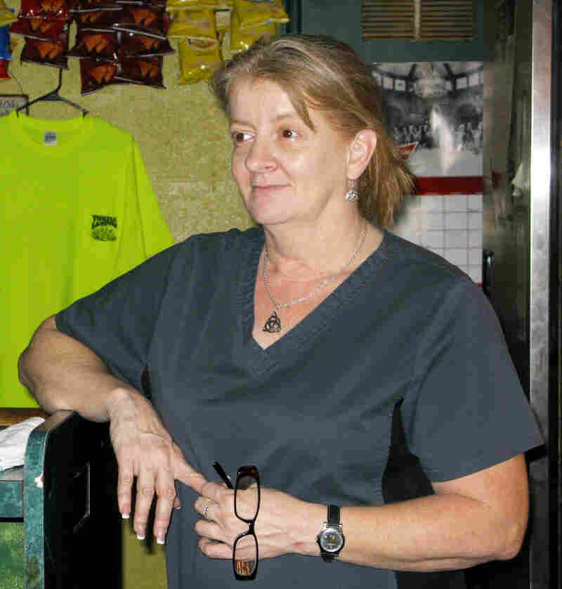 Connie Crapeau, a bartender at the Turtle Landing Bar and Grill in Pearlington, is grateful volunteers came to help rebuild. But many of them lacked the necessary skills and resources. As a result, Crapeau and others have had to repair the repairs made to their homes.
