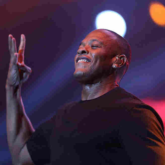 Dr. Dre releases his first album in 16 years, Compton, on August 7.
