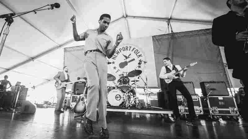 Leon Bridges, Live In Concert: Newport Folk 2015