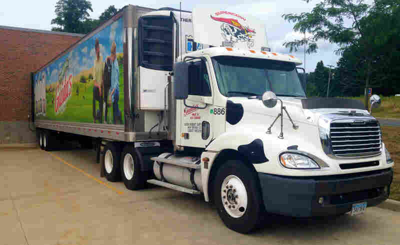 The U.S. and most other developed nations have sophisticated cold chains to keep milk cold from farmer to consumer. Here, the Guida Seibert Dairy Co. delivery truck out of New Britain, Conn.