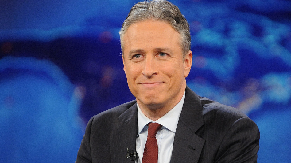 """""""The minute I say I'm not going to do [<em>The Daily Show</em>] anymore, I will miss it like crazy,"""" Jon Stewart says. (Brad Barket/AP)"""